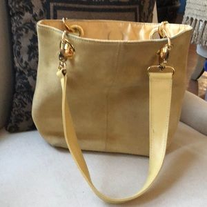 Cute vintage Mustard yellow hand bag cute